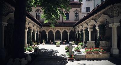 Architektúra, náboženstvo, byzantskej, pravoslávnej, city, dom, letný, kostol