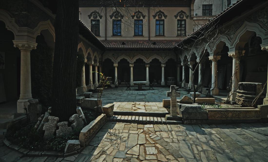 arhitekturom, bizantske, pravoslavne, crkve, temelj, ljetno, religija