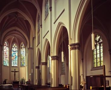Chiesa, architettura, Cattedrale, religione, all'interno della struttura