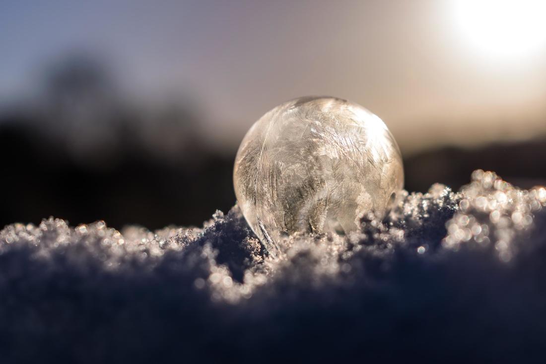 cielo, naturaleza, copo de nieve, escarcha, nieve, sol, atmósfera