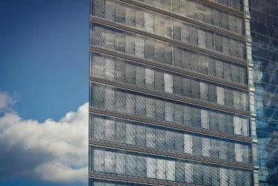 architecture, ville, ciel, urbain, moderne, centre-ville, fenêtre
