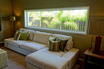 nábytek, uvnitř zakouřenou místnost, okno, dům, domov, pohovka, interiér