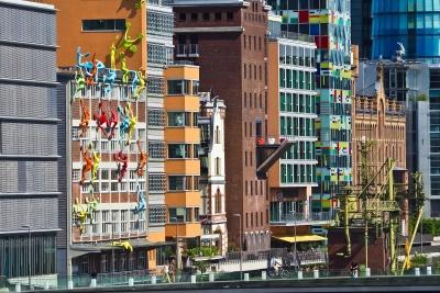 arkitektur, by, urban, urban, moderne, street, downtown, Ferielejlighed, bybilledet