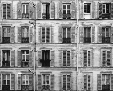 architecture, house, window, facade, apartment, old, city, balcony