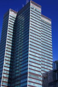 arkitektur, sentrum, byen, moderne, sky, urbane og moderne, tårn