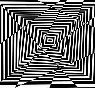 design, pattern, illusion, illustration, shape, art, graphic, monochrome