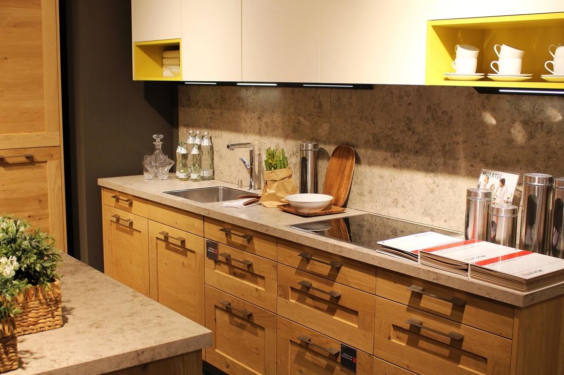 Kuchyně, kuchyňský stůl, pokoj, nábytek, uvnitř, kabinet, kohoutek, police, skříně