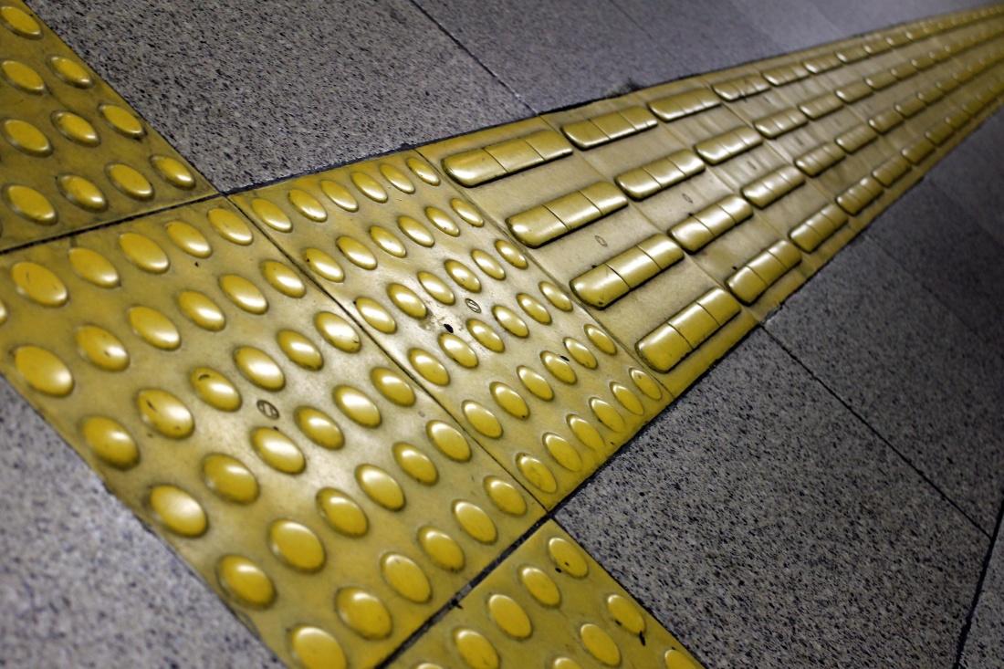 pavimento, amarillo, palabra, reflexión, textura, moderno, diseño