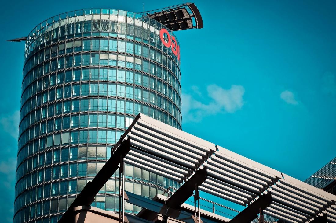 arquitectura, ciudad, cielo, moderna, urbana, de acero, torre, centro de