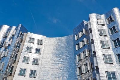 Architektur, Wohnung, Stadt, moderne Fenster, urban, Fassade