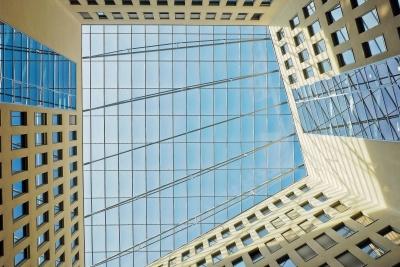 arquitectura, ventana, moderno, construcción, ciudad, fachada