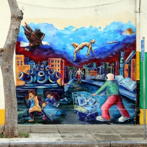 graffiti, art, street, decoration, colorful