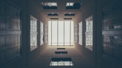 finestra, architettura, interni, camera, casa, porta, casa