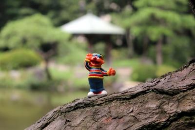 статуетка, играчки, пластмаса, обект, колоритен, дърво, дърво, природа