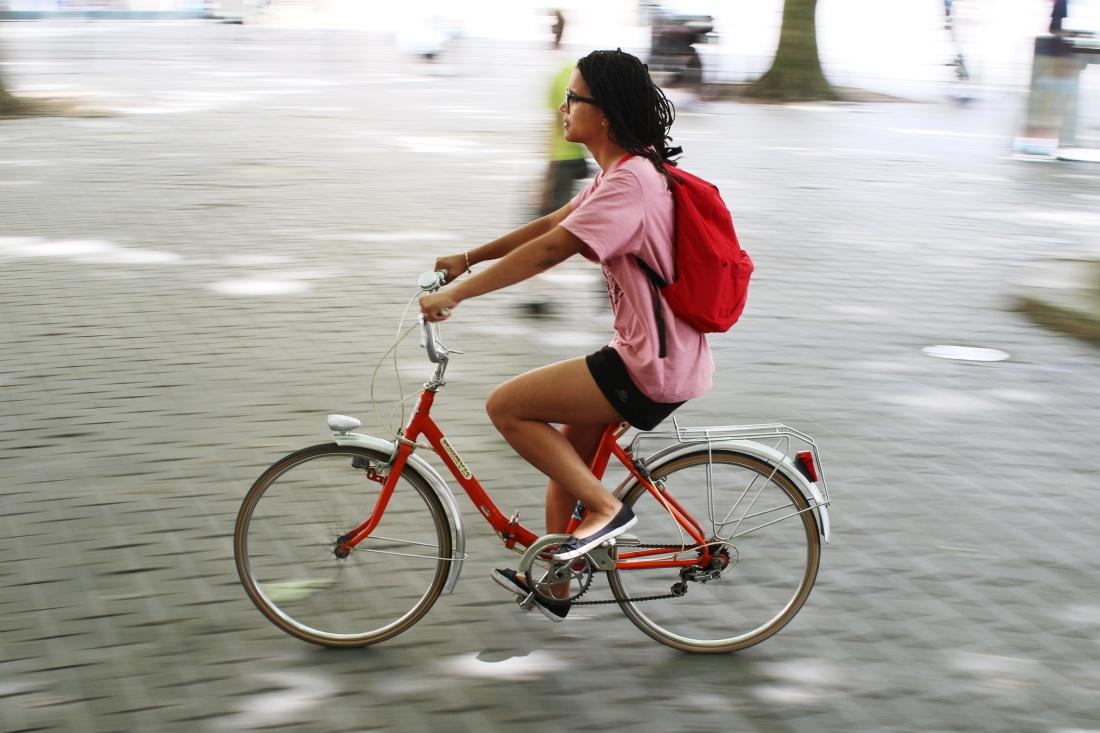 Frauen, aktiv, Lifestyle, Fitness, Rad, Radfahrer, Straße, Übung, Fahrrad
