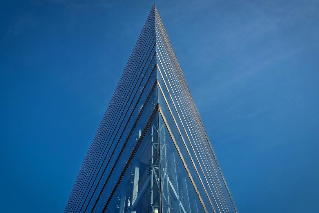 arkkitehtuurin, Sky, lasi, tower, city, urban, pitkä, julkisivu