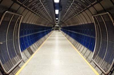 тунел, технология, перспектива, стомана, промишлеността, архитектура, отражение, модерен