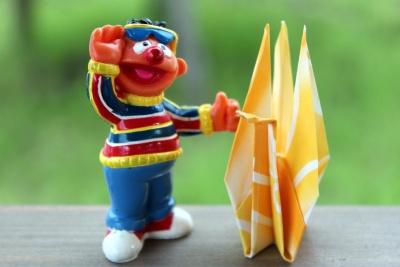 Spielzeug, lustig, Papier, Kunst, bunt, Kunststoff, Origami
