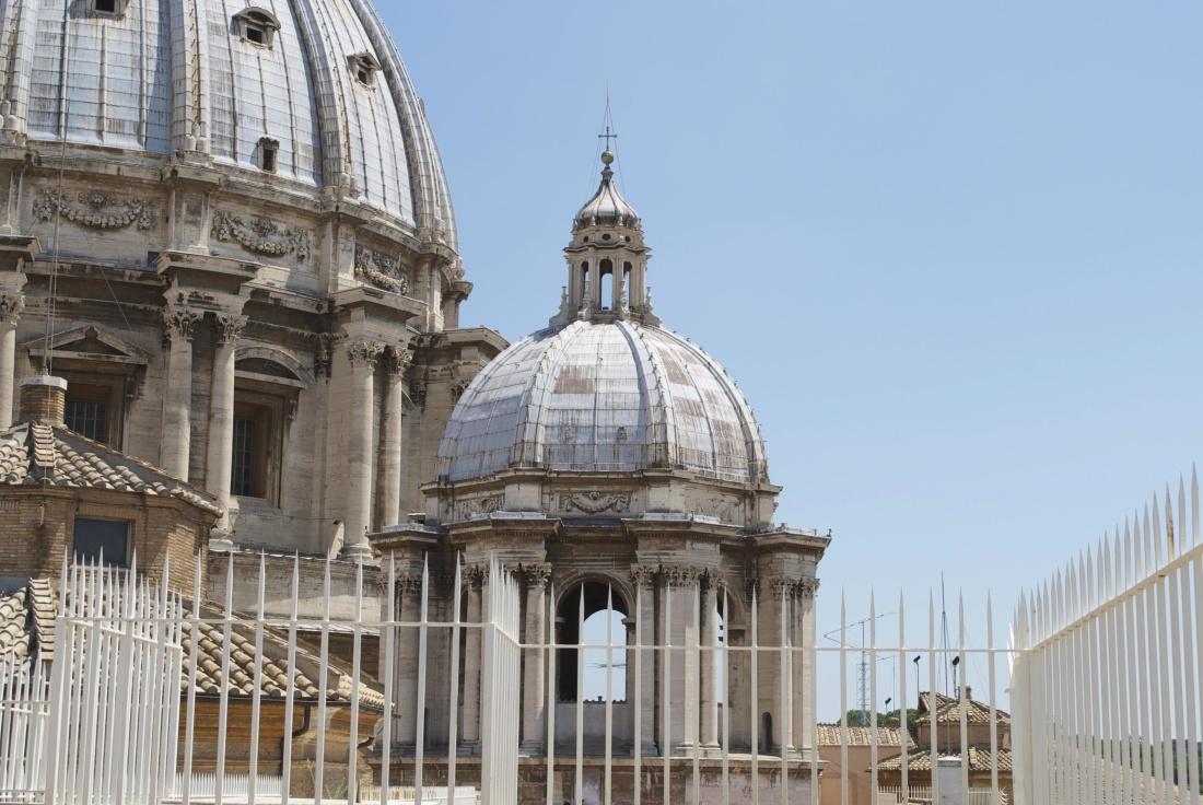 architecture, ville, Dôme, Eglise, toit, extérieur, clôture, rue