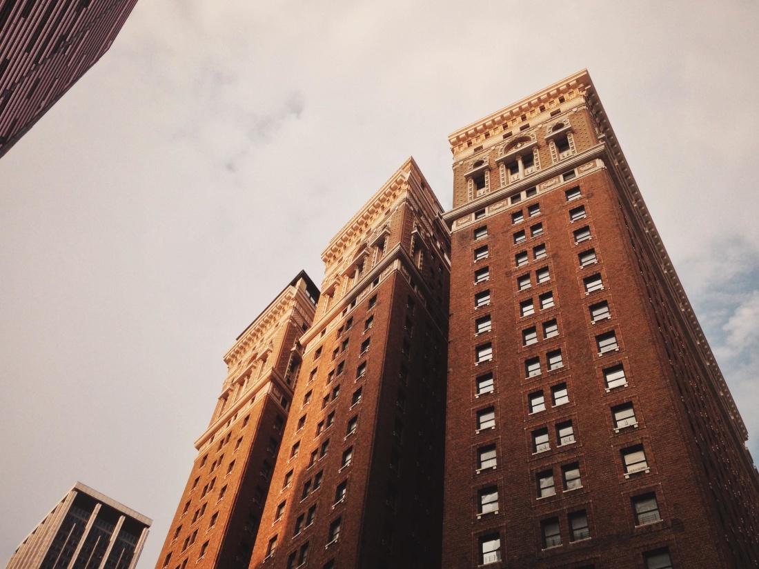 architecture, city, downtown, sky, urban, facade, town, exterior
