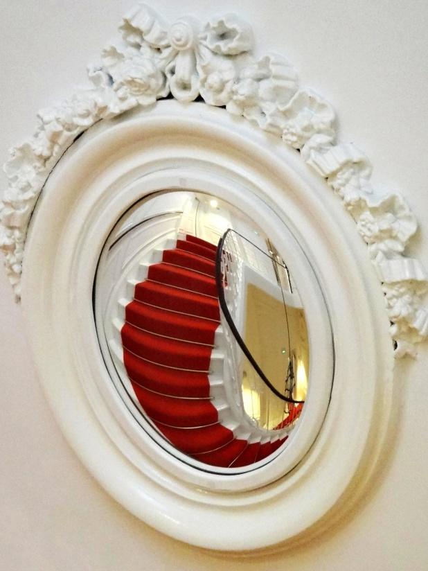 mirror, wall, decoration, luxury, architecture, retro, art, design