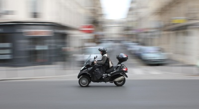 motorcycle, motorcyclist, vehicle, action, street, fast