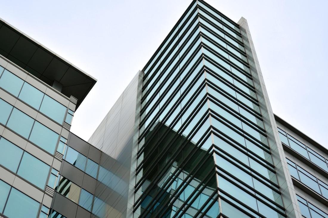 architecture, window, downtown, city, modern, sky, futuristic, urban