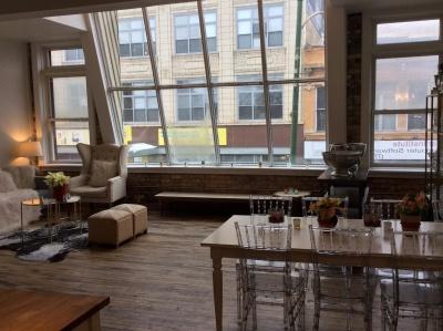 mobilier, table, salle, à l'intérieur, fenêtre, fauteuil, maison, maison, intérieur