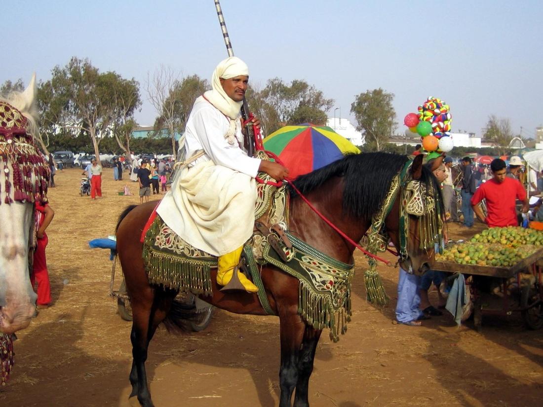 people, cavalry, festival, ceremony, man, costume, religion