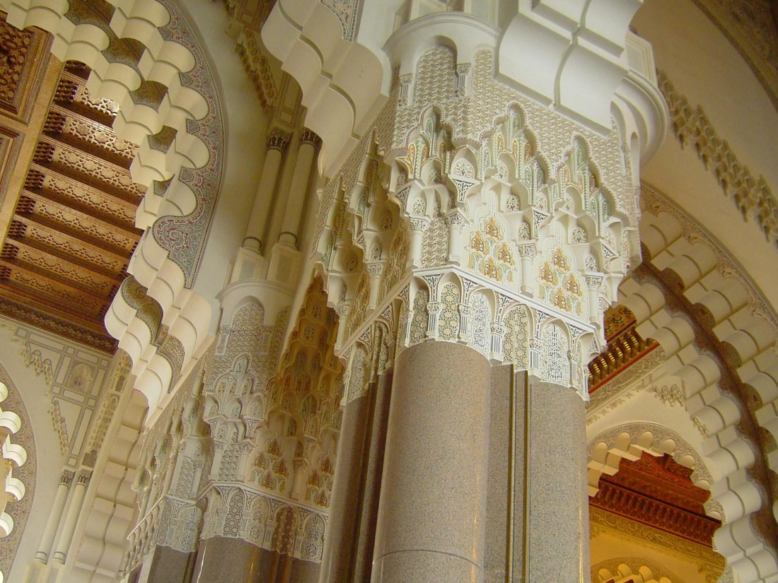 architettura, religione, decorazione, interni, muro, arte, arco