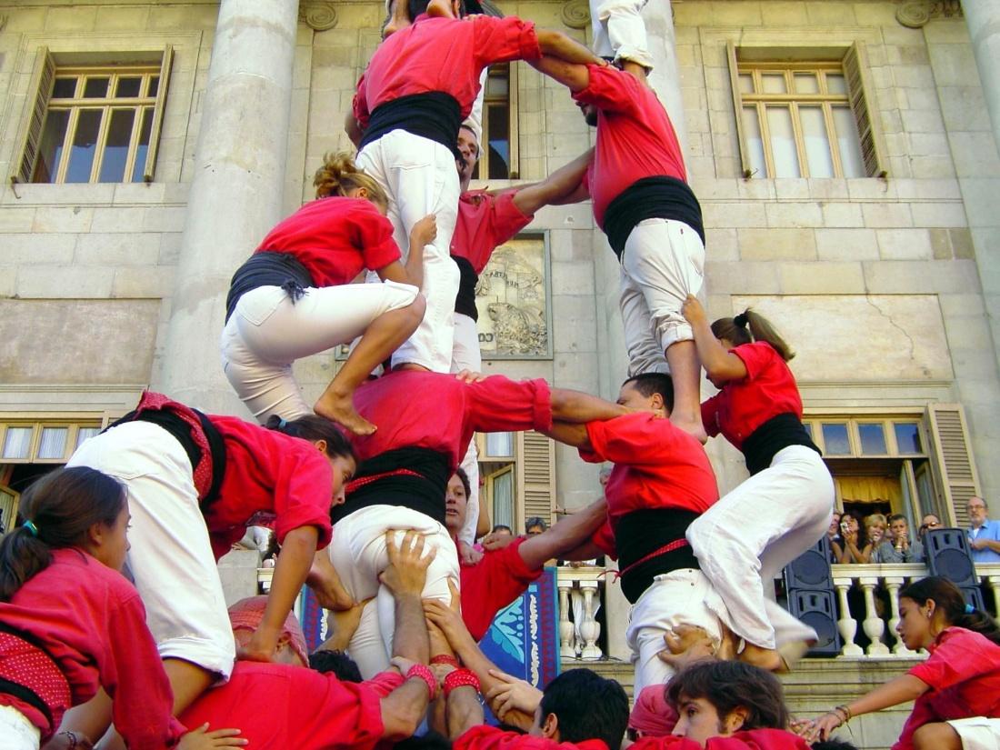 people, festival, crowd, man, woman, celebration, street, performance