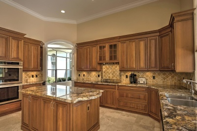 keuken, meubilair, kamer, fornuis, kabinet, house, binnenshuis, home, oven, kast