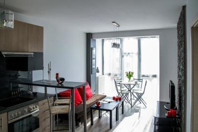 nábytek, uvnitř zakouřenou místnost, okno, židle, moderní, domů, tabulka