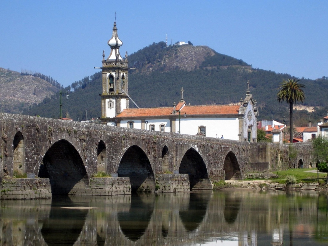 architecture, bridge, water, river, church, monastery, residence
