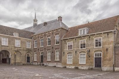 Architektura, dům, starý, palác, starý, bydliště, město, domov