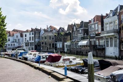 architettura, casa, città, città, luce del giorno, domestico, urbano, centro, barca, veicolo, canal