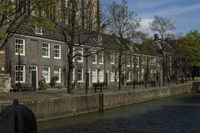 house, architecture, street, home, water, city, canal