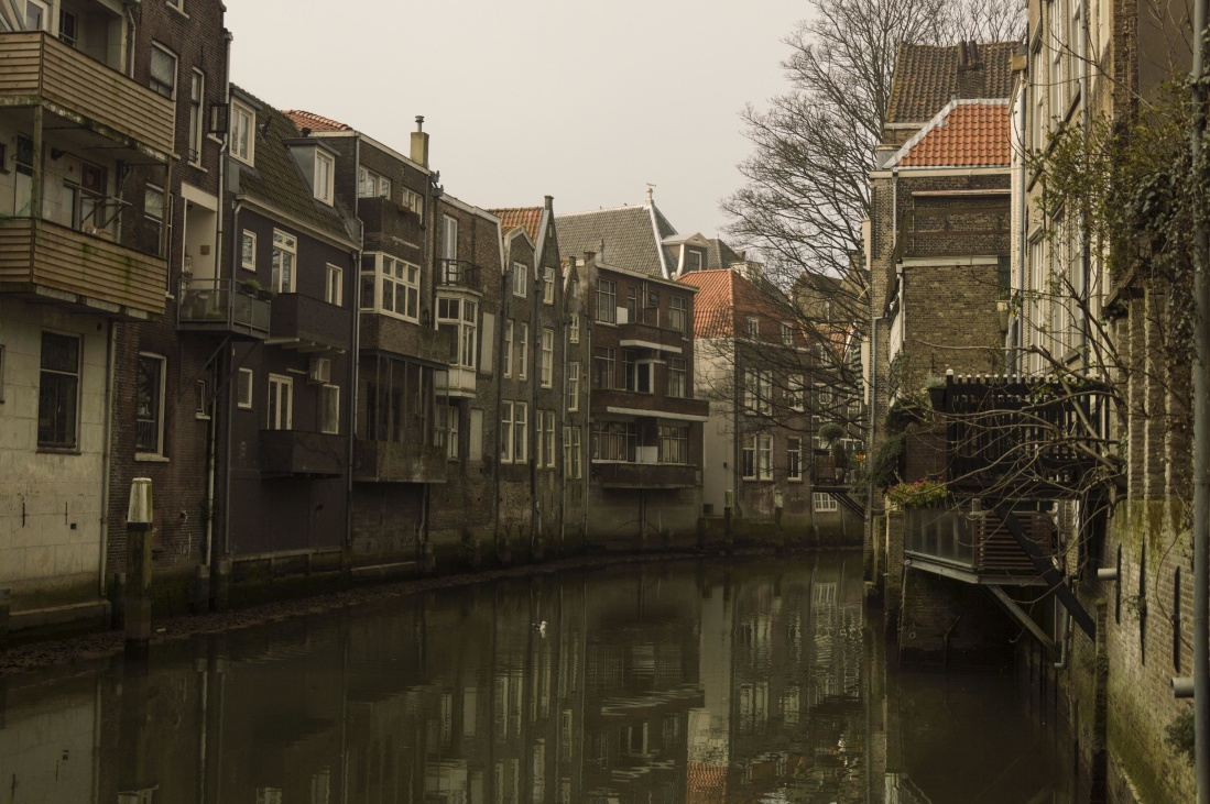 architecture, street, house, old, city, canal, home, town