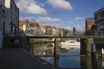 architecture, water, canal, river, city, urban, bridge