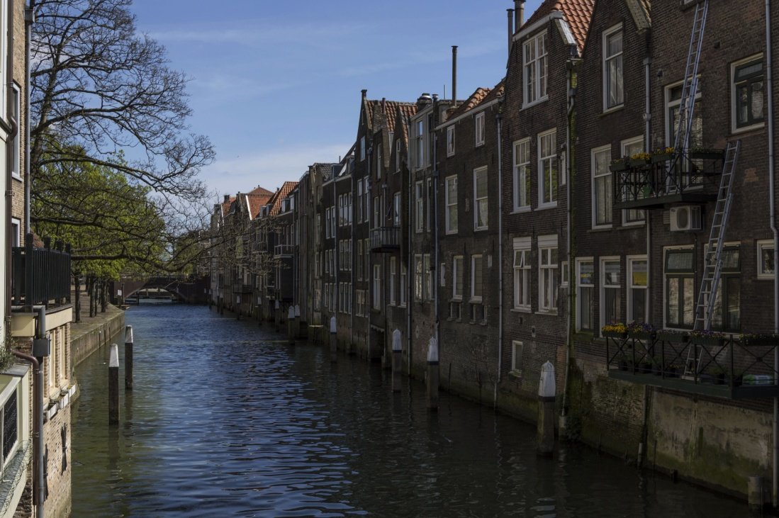 canal, water, architecture, river, city, exterior, capital, town, urban