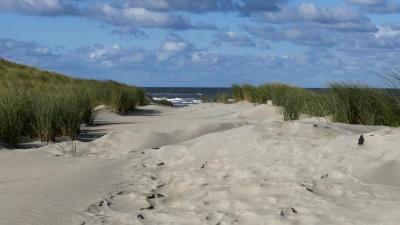 Beach, sand, havet, landskapet, naturen, land, kysten