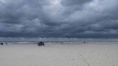 plaj, su, kum, deniz, deniz kıyısı, okyanus, manzara, deniz manzarası