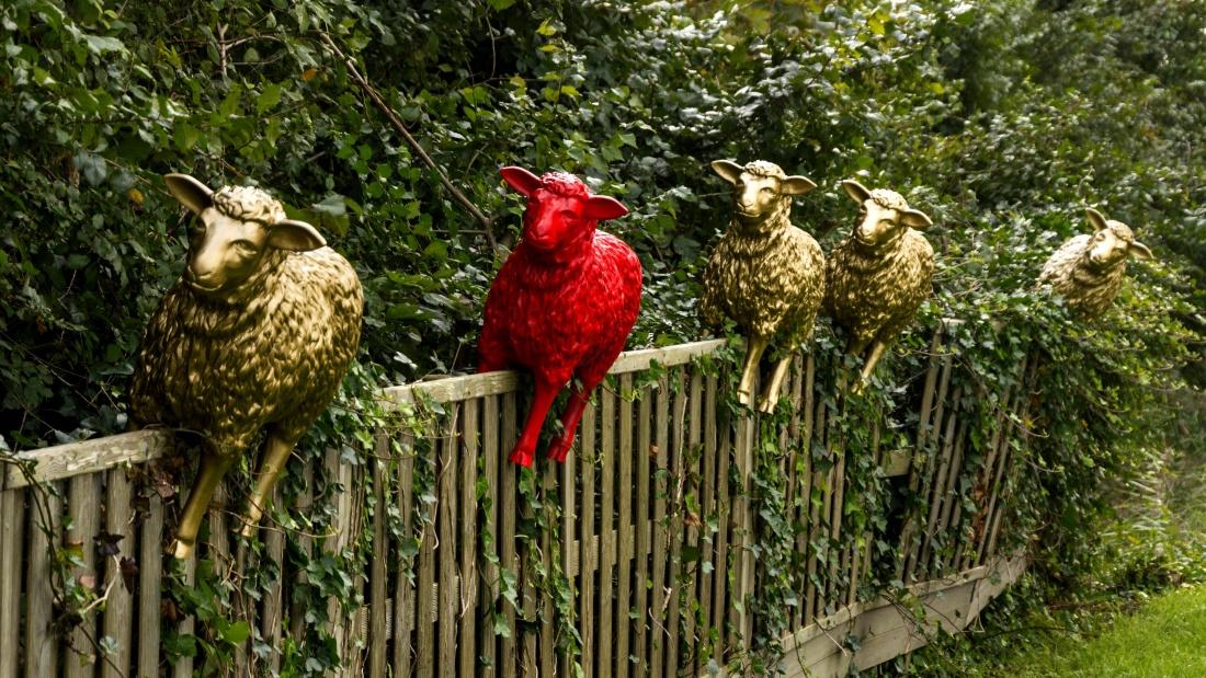 nature, sculpture, decoration, plastic, tree, animal, garden