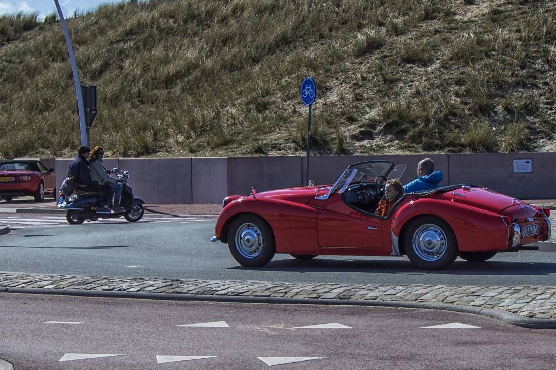 Fahrzeug, Auto, Rennen, Wettbewerb, Fahrt, Menschen, asphalt