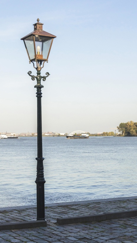 water, lantern, lamp, sky, road, seashore, sea, daylight