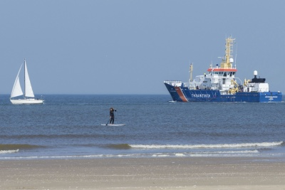 sea, water, watercraft, ocean, seashore, ship, summer, beach, coast