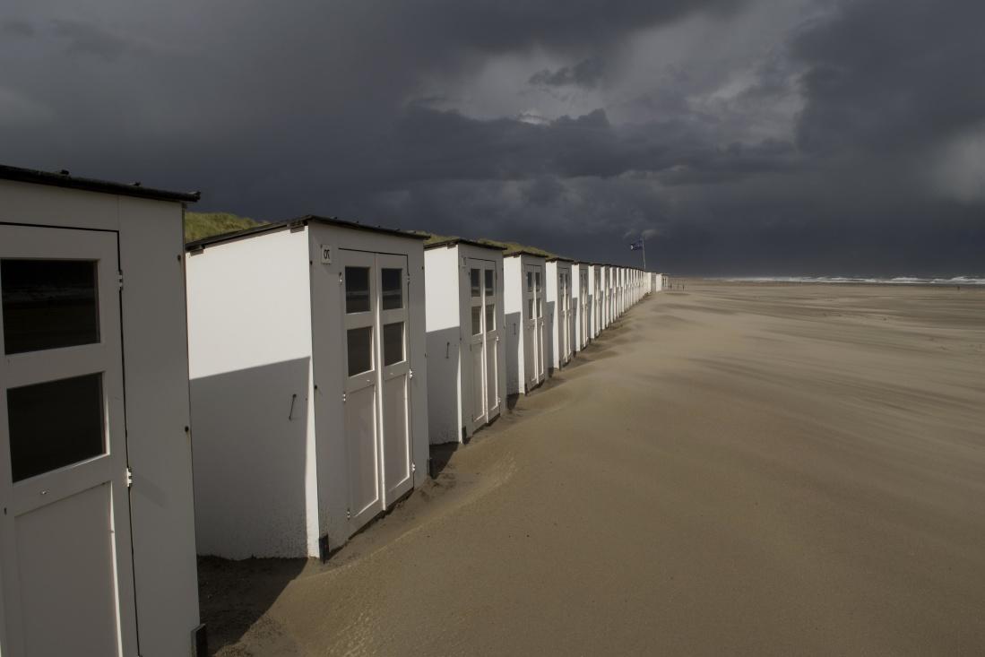 beach, seashore, sand, ocean, sky, landscape, sunset, dawn