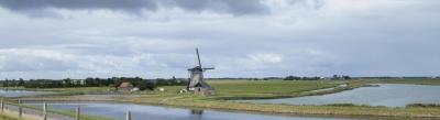 Windmühle, Wasser, Landschaft, Wind, Landwirtschaft, Rasen, Himmel
