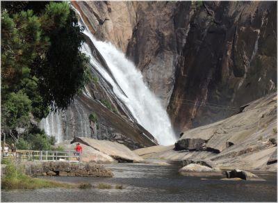 agua, paisaje, naturaleza, cascada, montaña, río, arroyo, piedra