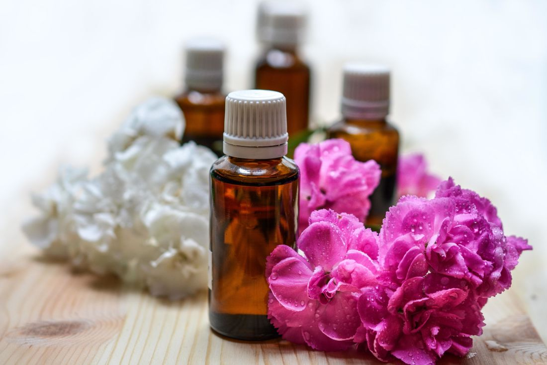 aromatherapy, glass, flower, bottle, perfume, therapy, perfume